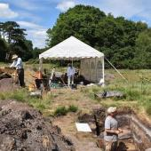 urn excavation in barrow 19